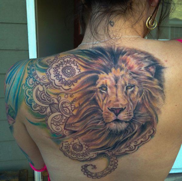 lion tattoo design ideas