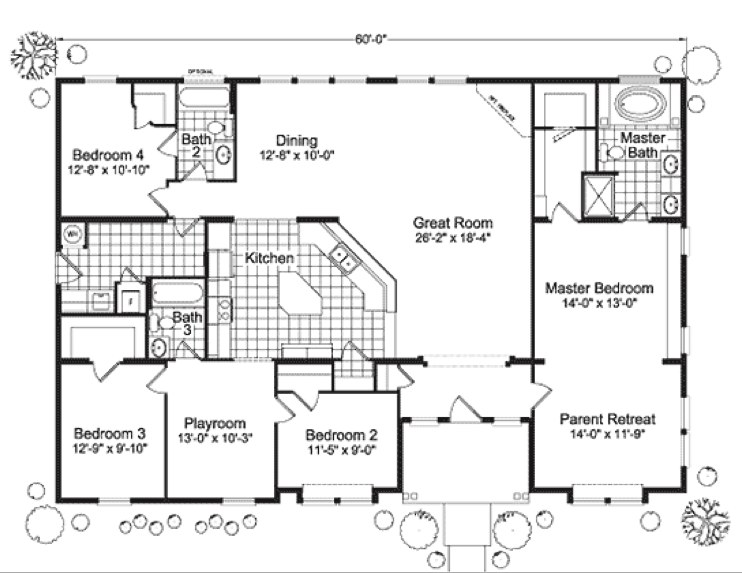 1000 Images About House Plan On Pinterest Manufactured Homes Floor