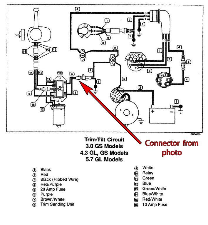 Mercury Smartcraft Wiring Diagram Fuel. Mercury. Auto