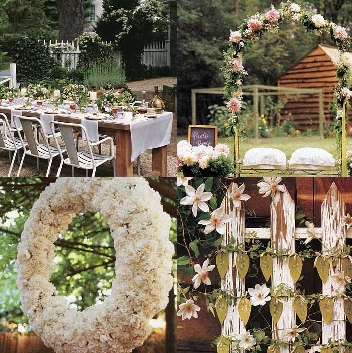Garden Wedding Ideas Gardens Receptions And Wedding