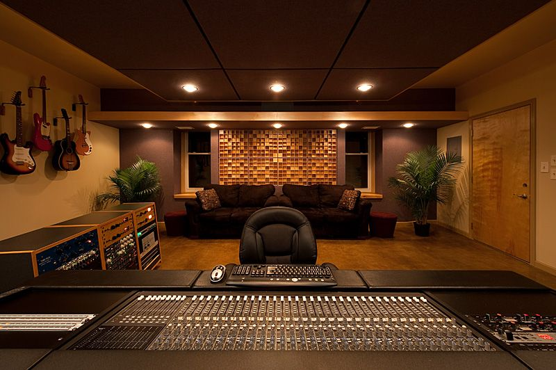 Home Recording Studio Design Ideas #9