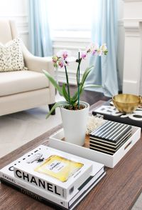 Phalaenopsis Orchid, Chanel coffee table books   AM Dolce ...