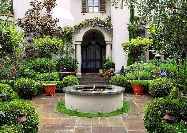Garden Design With Mediterranean Gardening On Pinterest