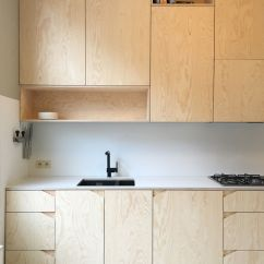 Plywood Kitchen Cabinets Home Depot Sinks Stainless Steel Design Pine Black Tap Studio