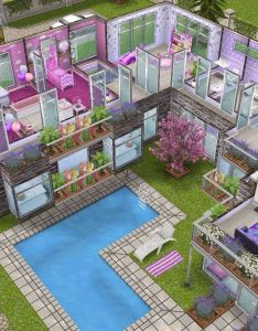 House level sims simsfreeplay simshousedesign also best images about on pinterest nd floor design and rh