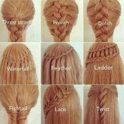 hairstyles easy step