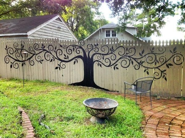 40 Creative Garden Fence Decoration Ideas Gardens Fence Ideas