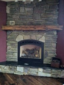Used Barn Beam Mantel