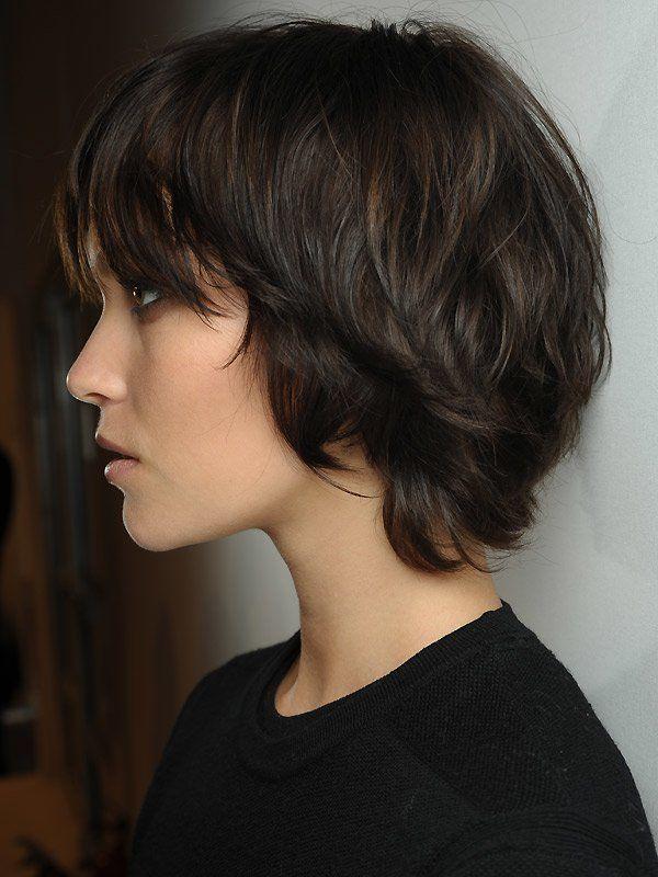 Frisuren Für Dickes Haar Hinterkopf Kurzhaarschnitte Und
