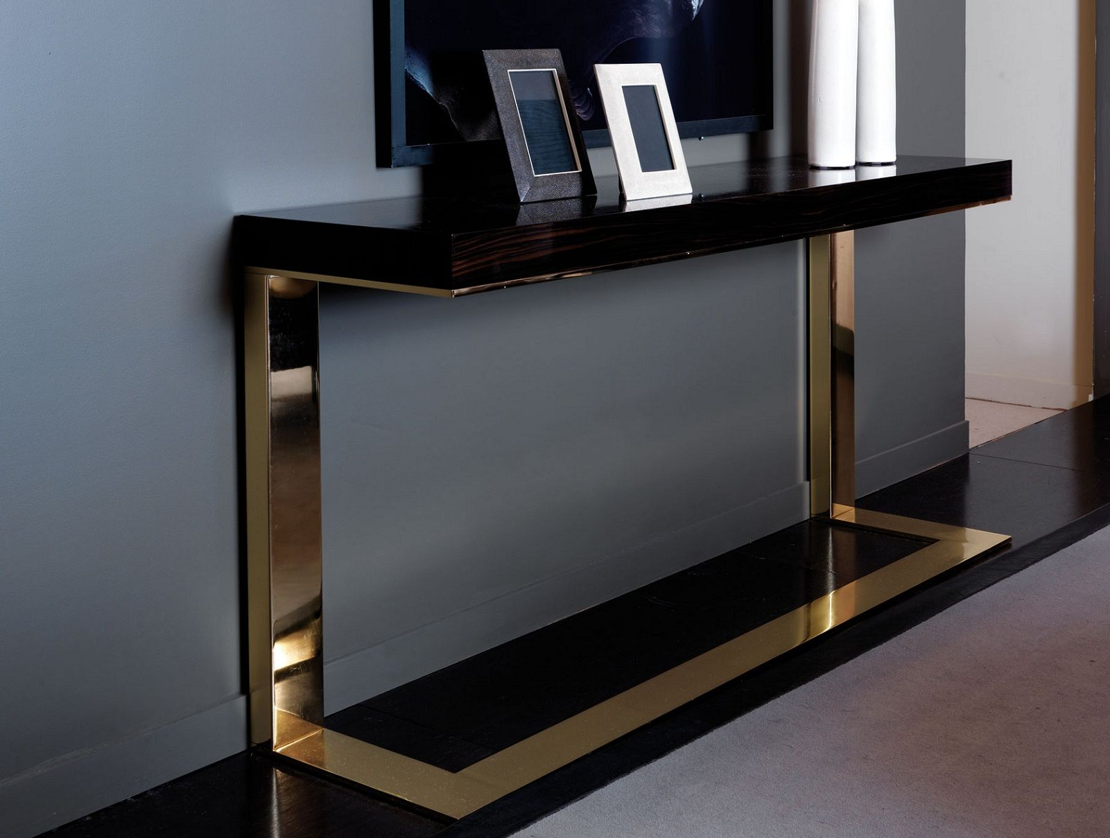 gl sofa tables contemporary cat leather protector best 25 43 modern console ideas on pinterest