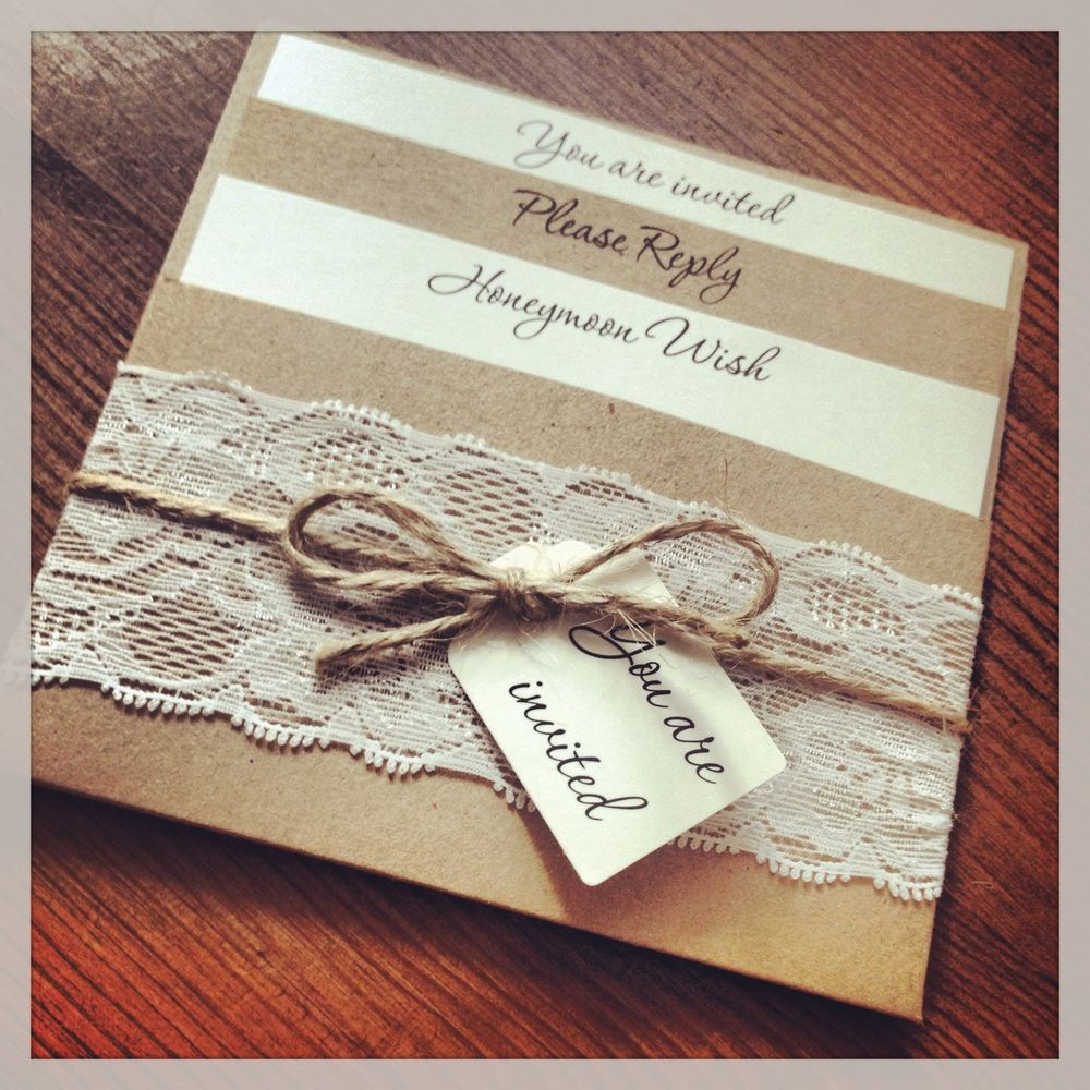 Create Your DIY Wedding Invitations  Vintage shabby chic Shabby chic style and Shabby