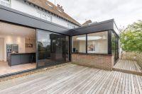 Modern flat roof extension | open plan living | timber ...