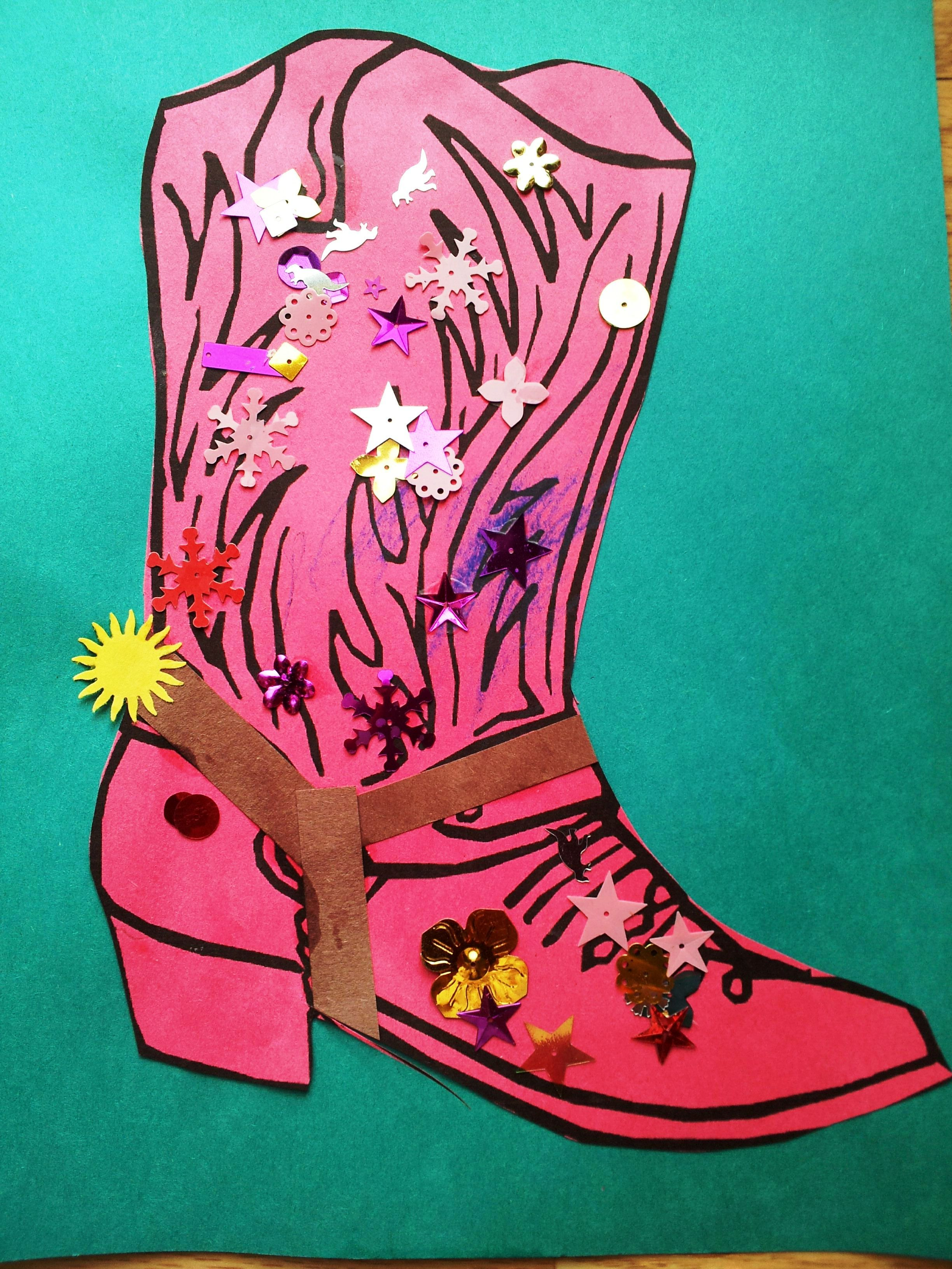 I Found A Cowboy Boot Pic That I Liked Through And
