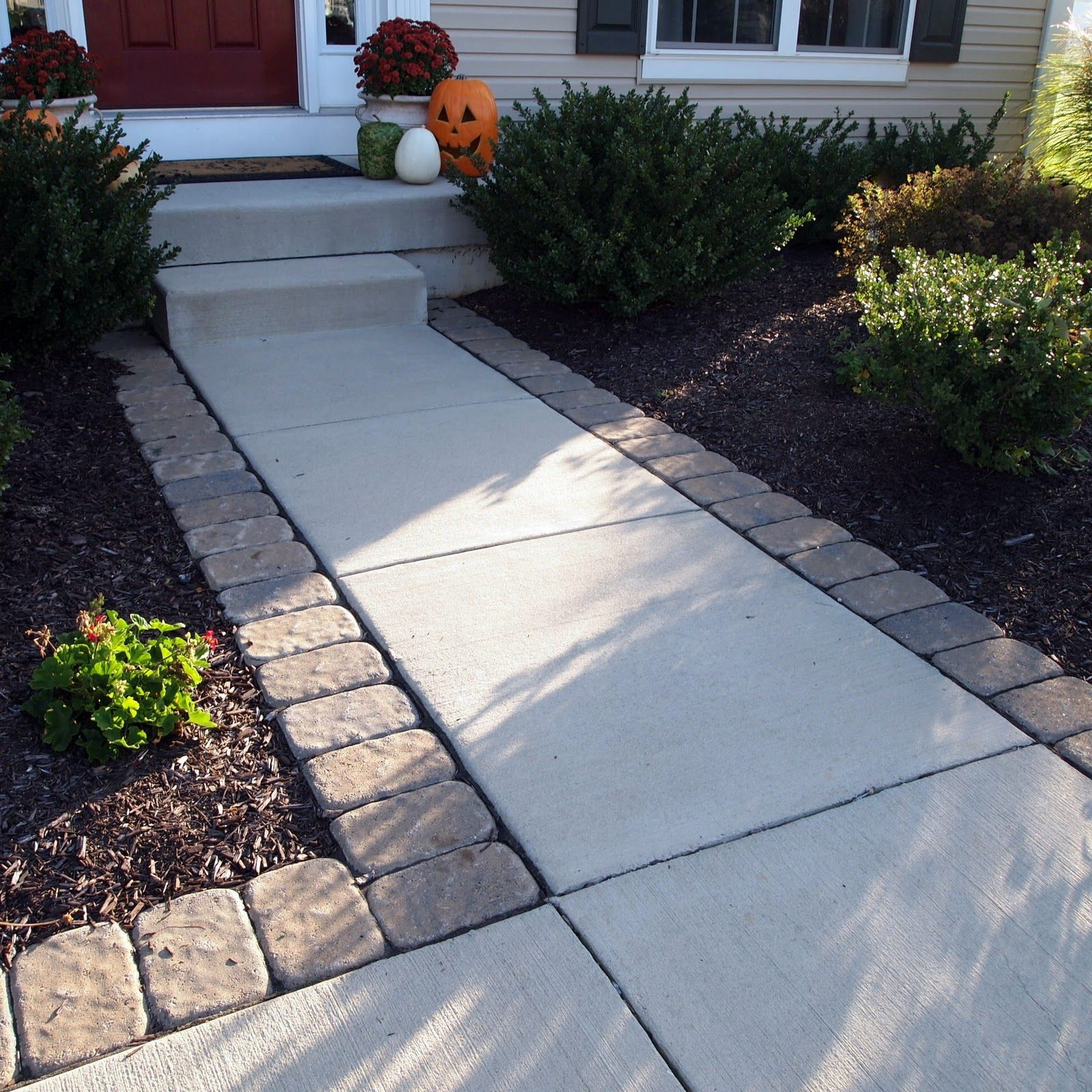 Best 25 Concrete Walkway Ideas On Pinterest Stained Concrete