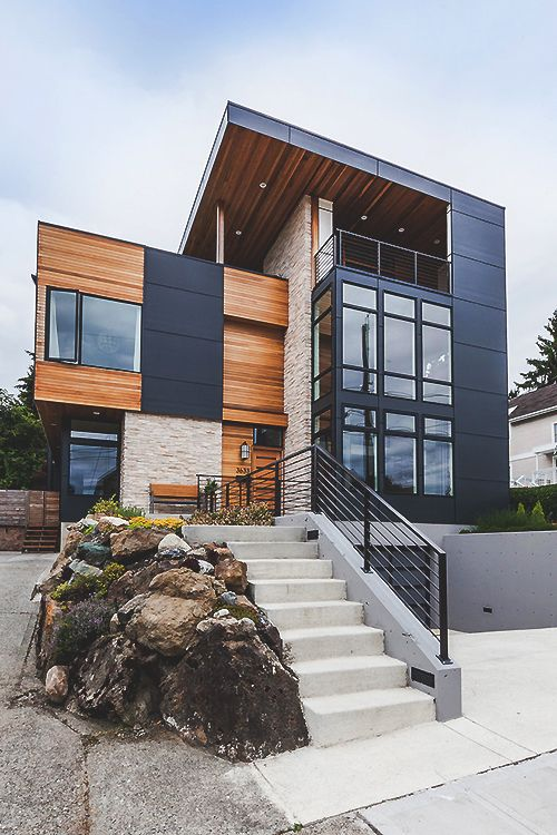 71 Contemporary Exterior Design Photos  Modern architecture Architecture and Modern