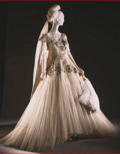 Norman hartnell designer court dress ensemble english also rh pinterest