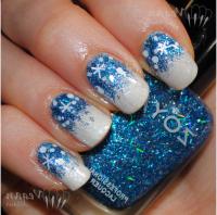 nail-designs-winter-nails-design-blue-white-glitter-nail ...