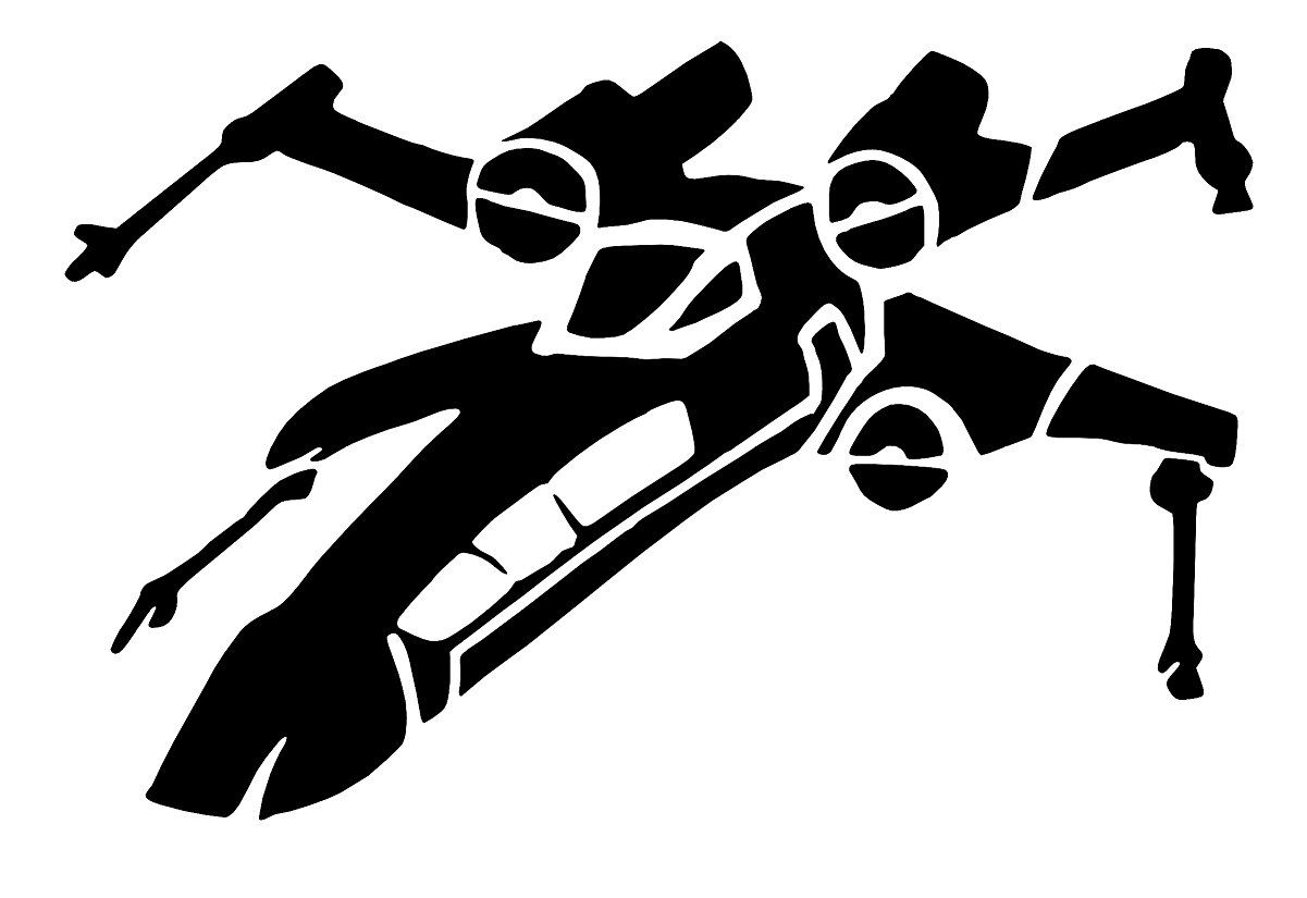 X Wing Sticker Vinyl Decals