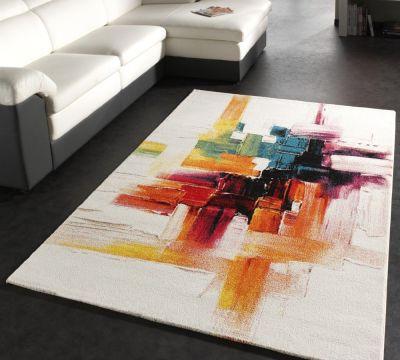 teppich modern splash designer teppich bunt brush neu ovp wohn und
