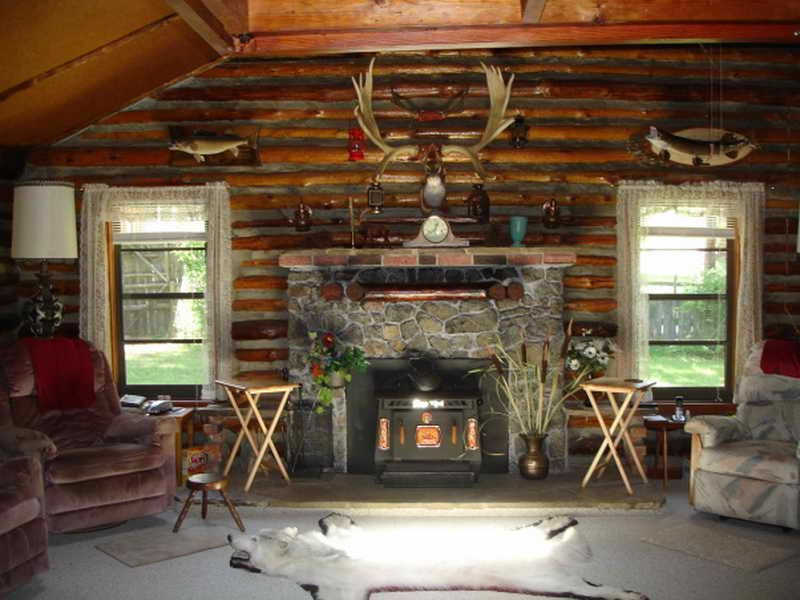 Log Cabin Decorating Ideas Pictures With Hunter 800×600