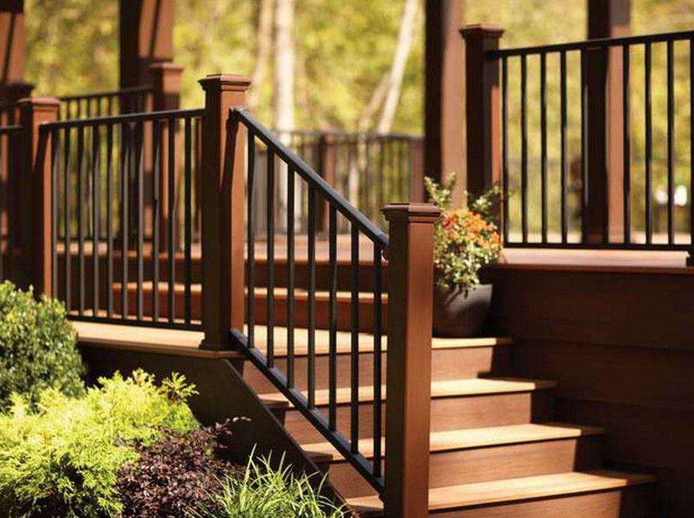 How To Select The Best Outdoor Stair Railing Outdoor Step Railing Ideas Find This Pin And More On Deck Porch