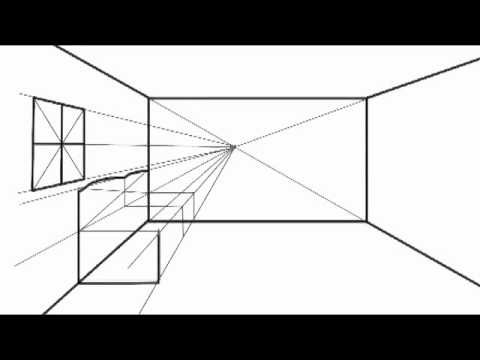 How to Draw in One Point Perspective-option2, One Point