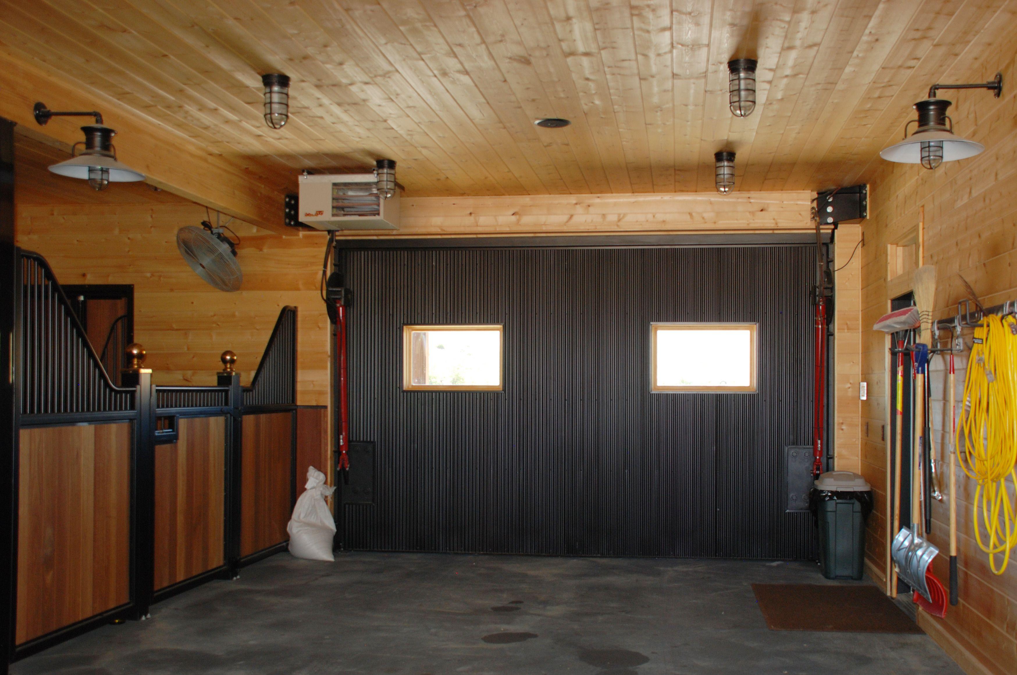 Corrugated Metal Interior Garage Wall Panels