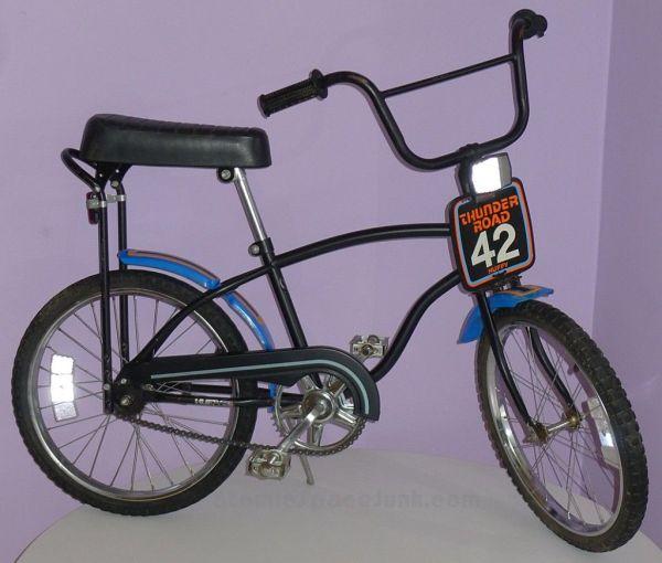 Huffy Thunder Road Bmx Bike Vintage Toys