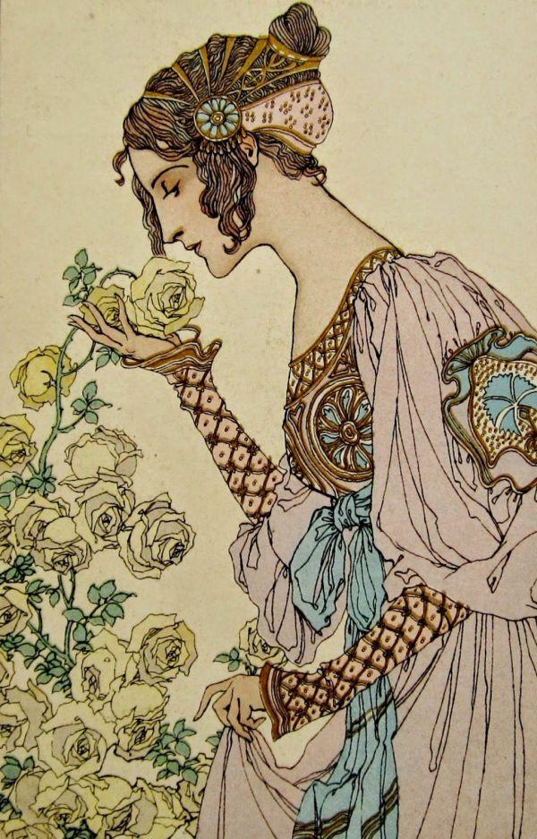Postcardiva Postcard Art Nouveau Postcards