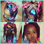 little girl ponytails