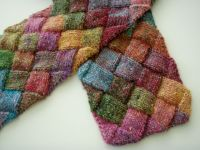 Entrelac Scarf | Scarf patterns, Ravelry and Crochet