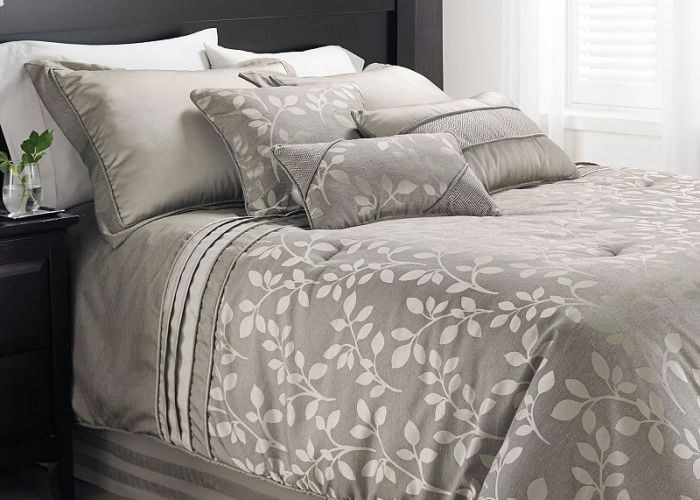 Comforter set also natural leaves pc bedding pinterest