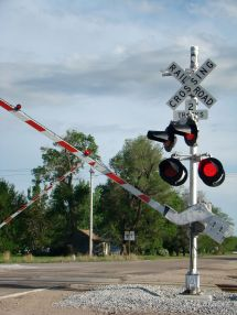 Old Railroad Track Signals - Year of Clean Water
