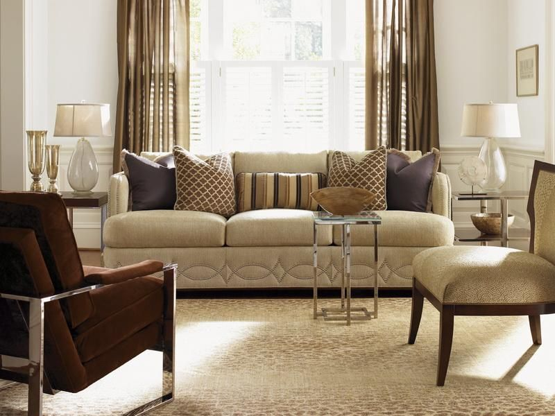 lexington sofa table big island greige how to arrange pillows on couch - google search | ...
