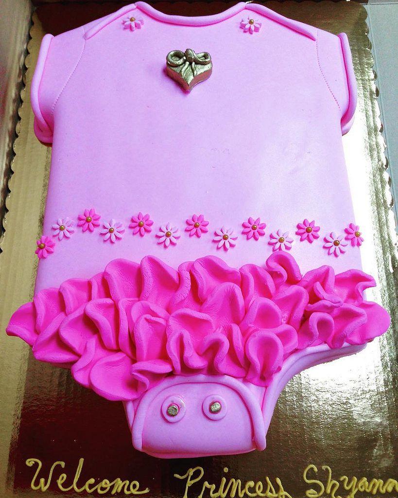 Onesie Cake Decorations