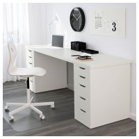 LINNMON Table top, white | Legs and Spaces