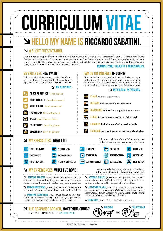 Curriculum Graphic Designer Design Rocks Pinterest Graphics