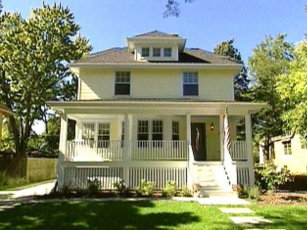 Home Foursquare Living On Pinterest Bungalows Craftsman And Exterior Colors