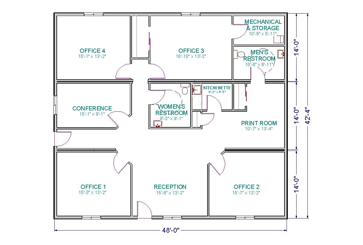 Office Plans By Chrissy Smith