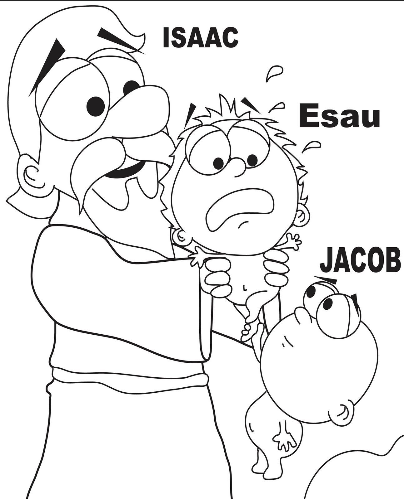 Sunday School Coloring Pages Jacob And Esau 1 Sunday School Coloring Pages Jacob