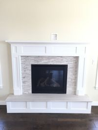 fireplace surrounds with a raised hearth - Google Search ...