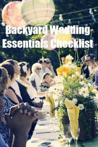 The Backyard Wedding: At-Home Weddings Are Beautiful, but ...