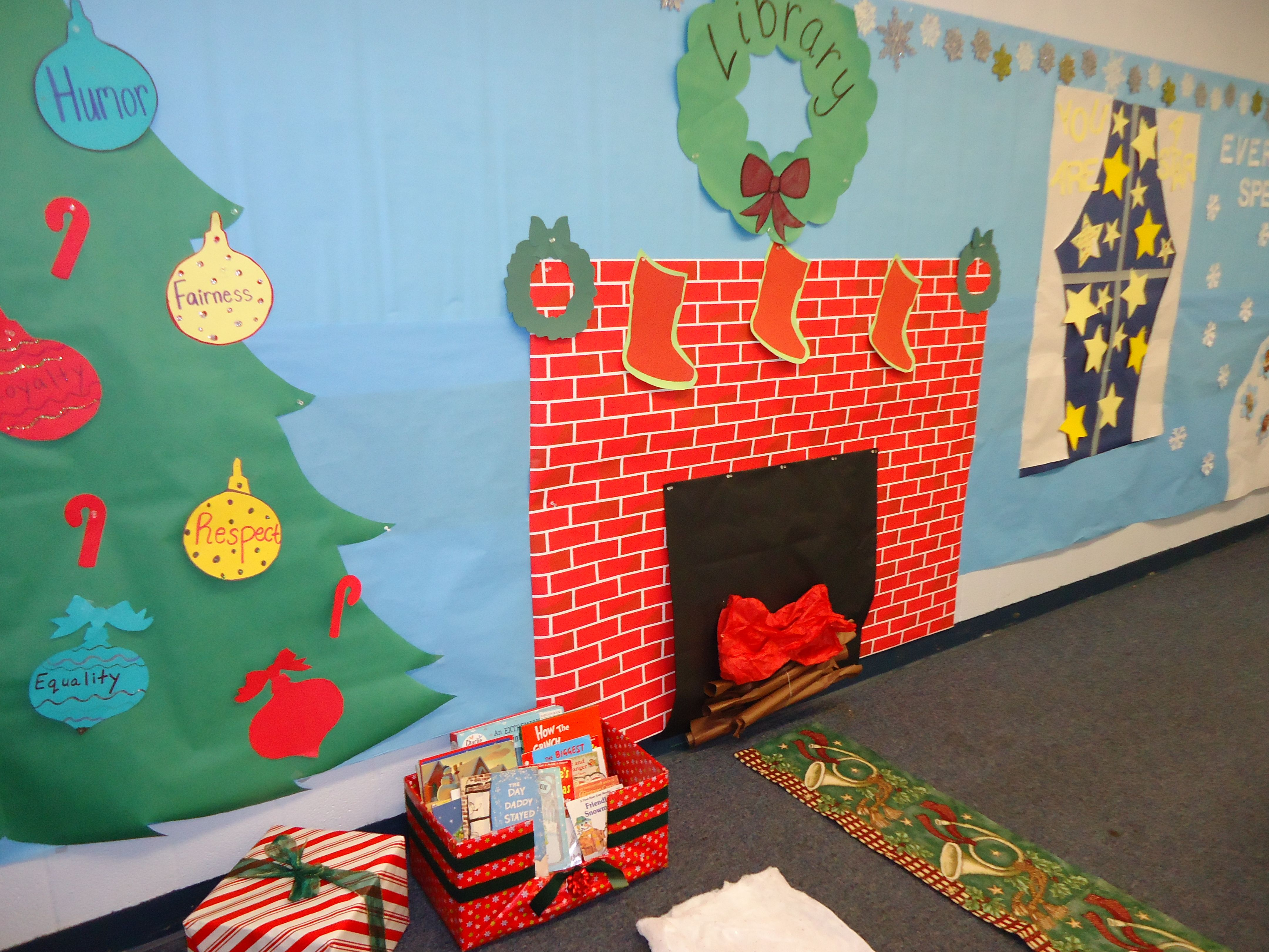 Winter Wonderland In The Classroom