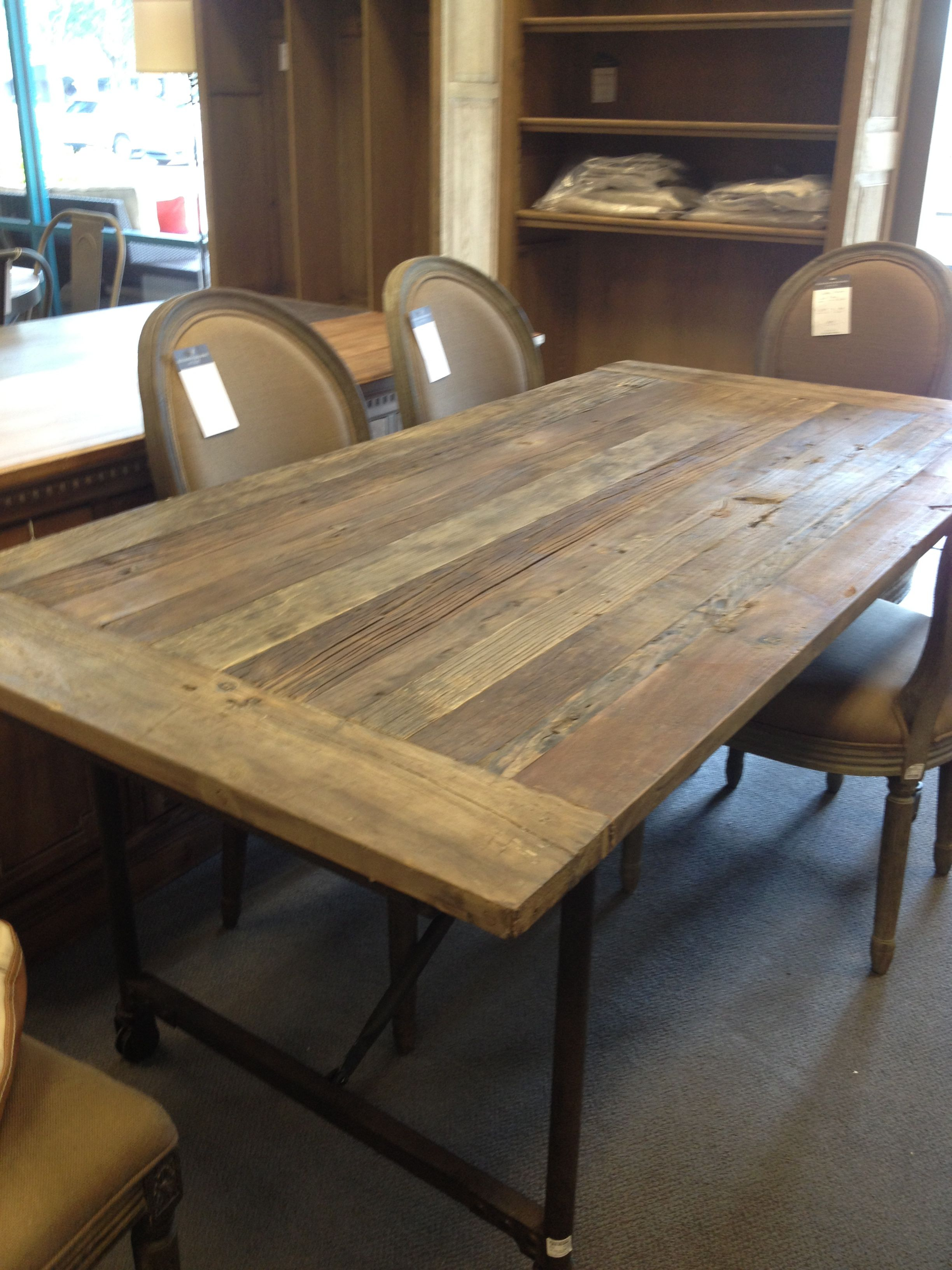 restoration hardware kitchen table decorating a large wall top 72 quot flatiron from
