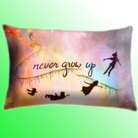 Disney New Peter Pan Quote Color Cover Pillow Size by ...