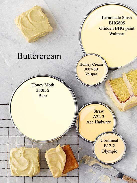 Benjamin Moore Butter Yellow Kitchen