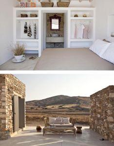 Decordemon  small but beautiful home on antiparos greece also cabin rh pinterest