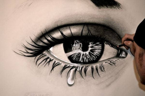 Drawings Of Eyes - 15 Unbelievable Collections Slodive