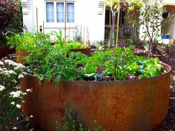 Georgeus Raised Garden Beds Metal Garden Edging From Fromboss