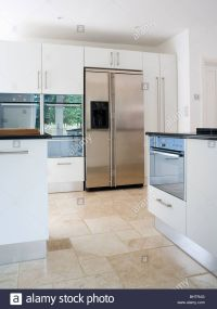 american fridge freezer in modern kitchen images - Google ...